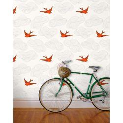 Daydream Orange Wallpaper
