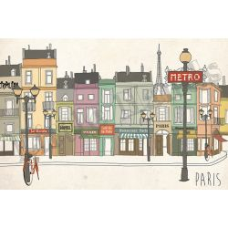 Paris Wallpaper Mural