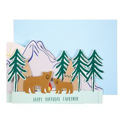 Happy Birthday Explorer Card