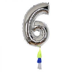 Fancy Number Balloon 6