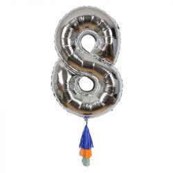 Fancy Number Balloon 8