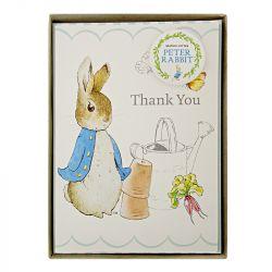 Biglietti di Ringraziamento Peter Rabbit