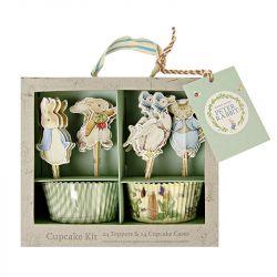Kit per Cupcakes Peter Rabbit