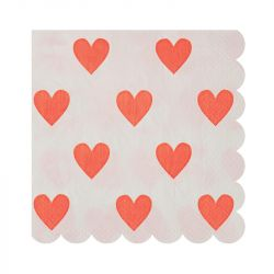 Heart Small Napkins