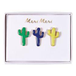 Cacti Enamel Pins