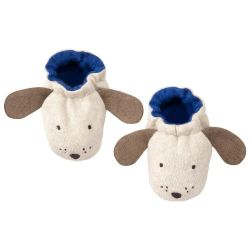 Dog Baby Booties from Meri Meri :: Baby Bottega