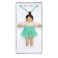 Lila doll necklace from Meri Meri :: Baby Bottega