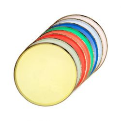 Party Palette paper plates from Meri Meri :: Baby Bottega