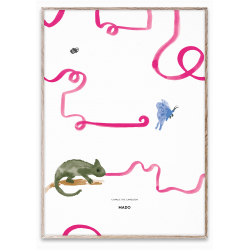 Charlie the Chameleon poster from MadoMado :: Baby Bottega
