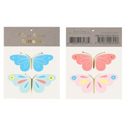 Neon Butterfly Tattoo from Meri Meri