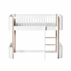 Mini & Low Loft Bed from Oliver Furniture :: Baby Bottega