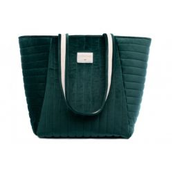 Savanna Velvet Maternity Bag from Nobodinoz :: Baby Bottega