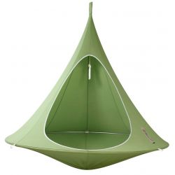 Tenda sospesa in colore verde da Cacoonworld Bebo :: Baby Bottega