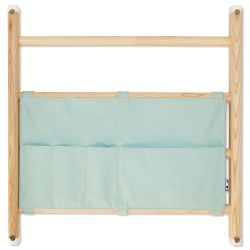 Organizer bag for wall bars in mint from Kaos :: Baby Bottega