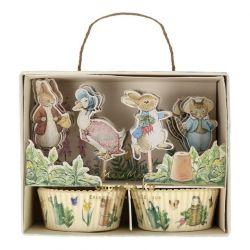 Peter Rabbit & Friends Cupcake Kit di Meri Meri :: Baby Bottega