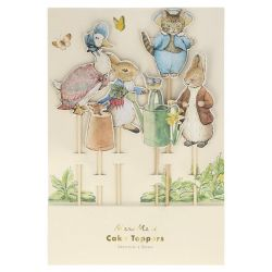 Peter Rabbit & Friends Decoro per la torta di Meri Meri :: Baby Bottega