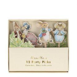 Peter Rabbit & Friends Party Picks di Meri Meri :: Baby Bottega