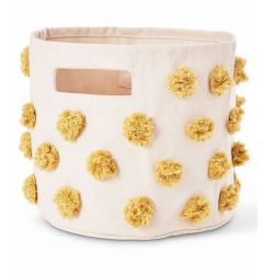 Pompom Marigold Storage Pint from Pehr :: Baby Bottega