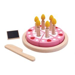 Set Torta di Compleanno eco-friendly di Plan Toys :: acquista su Baby Bottega