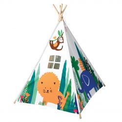 Tenda Teepee Jungle di Rex :: acquista ora su Baby Bottega