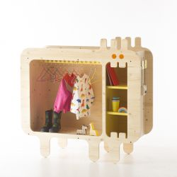"""Armadio """"Stiven"""" per bambini from xo-inmyroom :: Baby Bottega"""