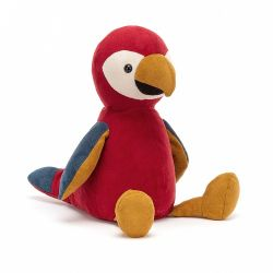 Belby Parrot from Jelly Cat soft toys :: Baby Bottega Gift Ideas