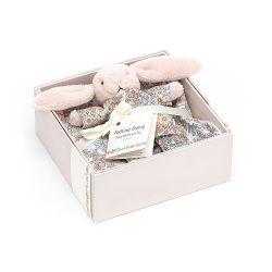 Bedtime Blossom Bunny Gift Set from Jellycat soft toys :: Buy at Baby Bottega