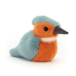 Birdling Kingfisher, a soft toy from Jellycat :: Baby Bottega