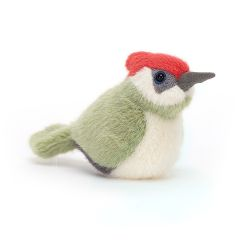 Birdling Woodpecker, a soft toy from Jellycat :: Baby Bottega