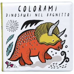 Colorami Dinisauri nel Bagnetto from Ippocampo :: Available at Baby Bottega