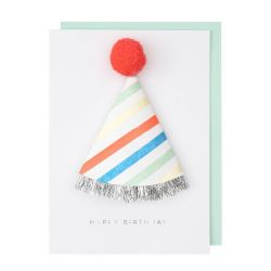 1st Birthday Hat Card from Meri Meri :: Baby Bottega