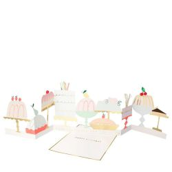 Cake Concertina Card from Meri Meri :: Baby Bottega