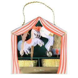 Circus Parade Cupcake Kit from Meri Meri :: Baby Bottega