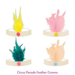 Circus Parade Feather Crowns from Meri Meri :: Baby Bottega