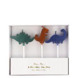 Candele del regno dei dinosauri di Meri Meri :: Baby Bottega