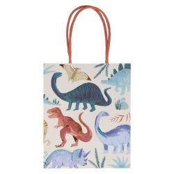 Sacchetini di Feste Dinosaur Kingdom da Meri Meri :: Baby Bottega Articoli da Feste