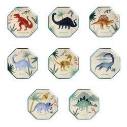 Dinosaur Kingdom Side Plates from Meri Meri :: Baby Bottega