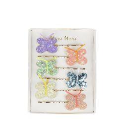 Glitter Butterfly Fermacapelli di Meri Meri :: Baby Bottega