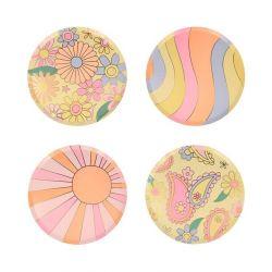Psychedelic 60s Side Plates from Meri Meri :: Baby Bottega
