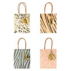 Safari Animal Print Party Bags from Meri Meri :: Baby Bottega Party Supplies