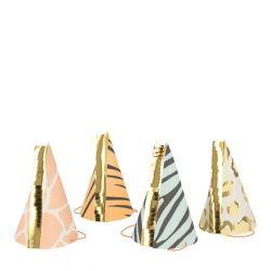 Safari Animal Print Party Hats from Meri Meri :: Baby Bottega
