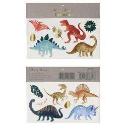 Dinosaur Kingdom Large Tattoos from Meri Meri :: Baby Bottega