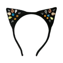 Sparkle Cat Ear Headband from Meri Meri dress-up fun :: Available at Baby Bottega