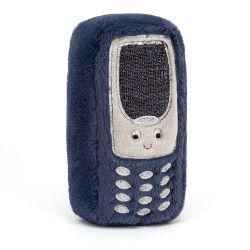 Wiggedy Phone plush toy for newborns from Jellycat :: Available at Baby Bottega