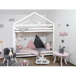 CLOUDY, letto castello in stile Montessori di Benlemi