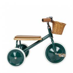 Triciclo per bambini, verde di Banwood disponibile presso Baby Bottega