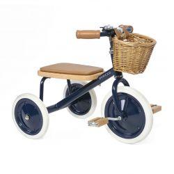 Triciclo per bambini, blu di Banwood disponibile presso Baby Bottega