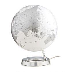 mappamondo globo cromo luce di notte tavolo atmosphere baby bottega