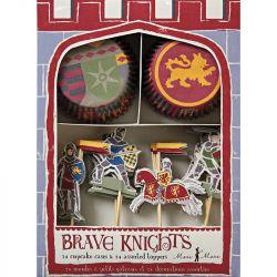 Set Cupcakes Knights