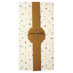 Toot Sweet Spotty Tablecloth from Meri Meri :: Baby Bottega